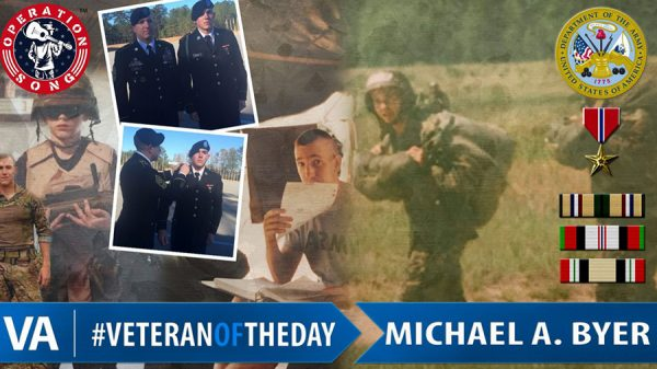 veteran of the day Michael Byer