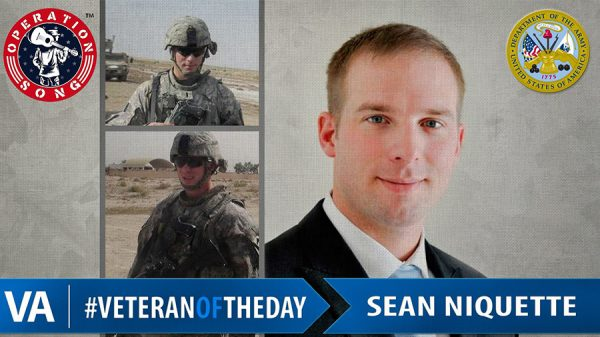 Veteran of the Day Sean Niquette